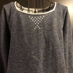 Anne Klein Sweatshirt with studs